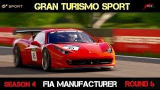 GT Sport - FIA MANUFACTURER (SEASON 4 - ROUND 6)
