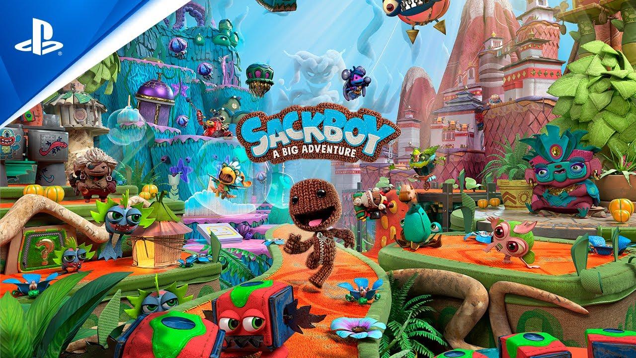 Sackboy Una aventura a lo grande - Tráiler de presentación