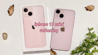 아이폰13 미니 핑크 언박싱, 한국 출시가보다 비싼 미…