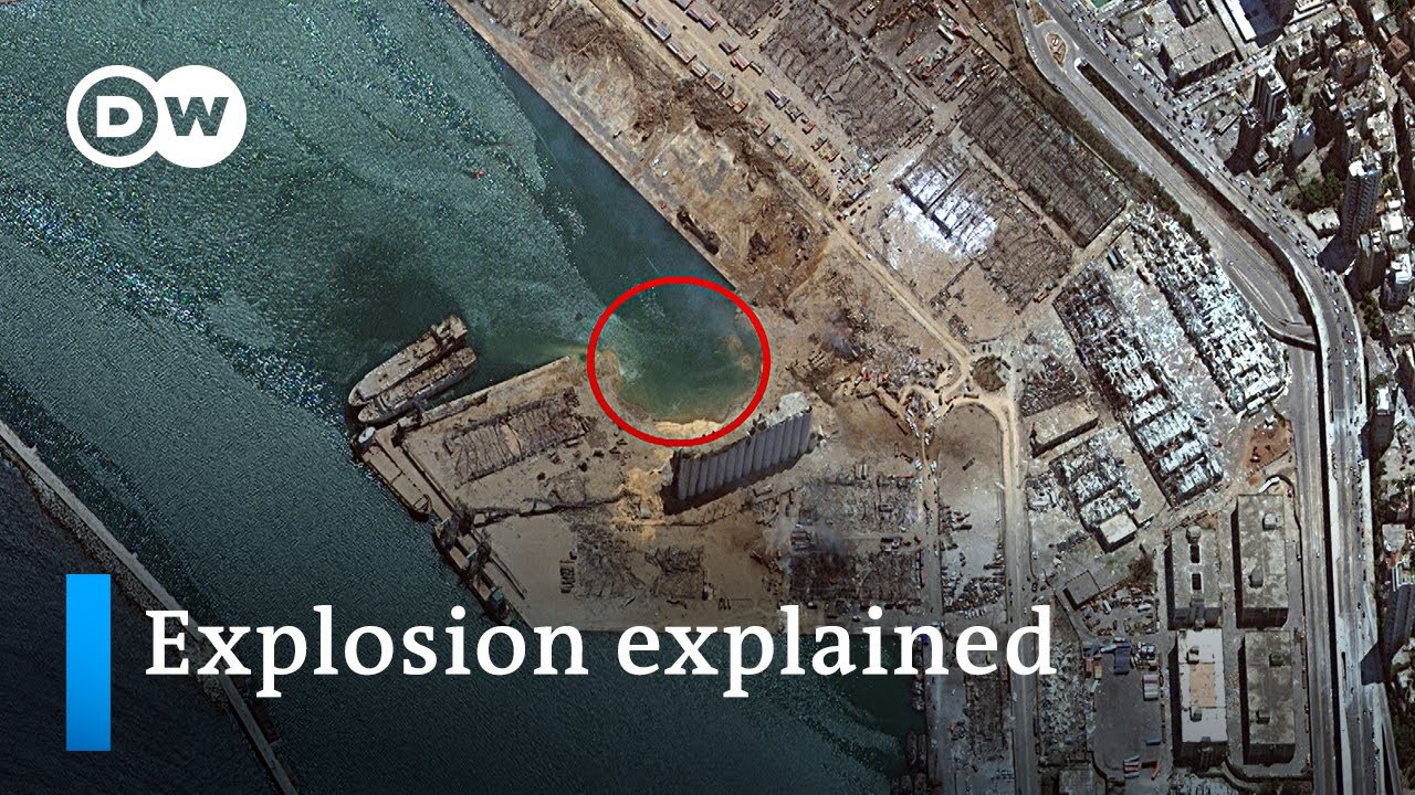 Download Why was the Beirut blast so massive? Ammonium Nitrate explosion explained | DW News