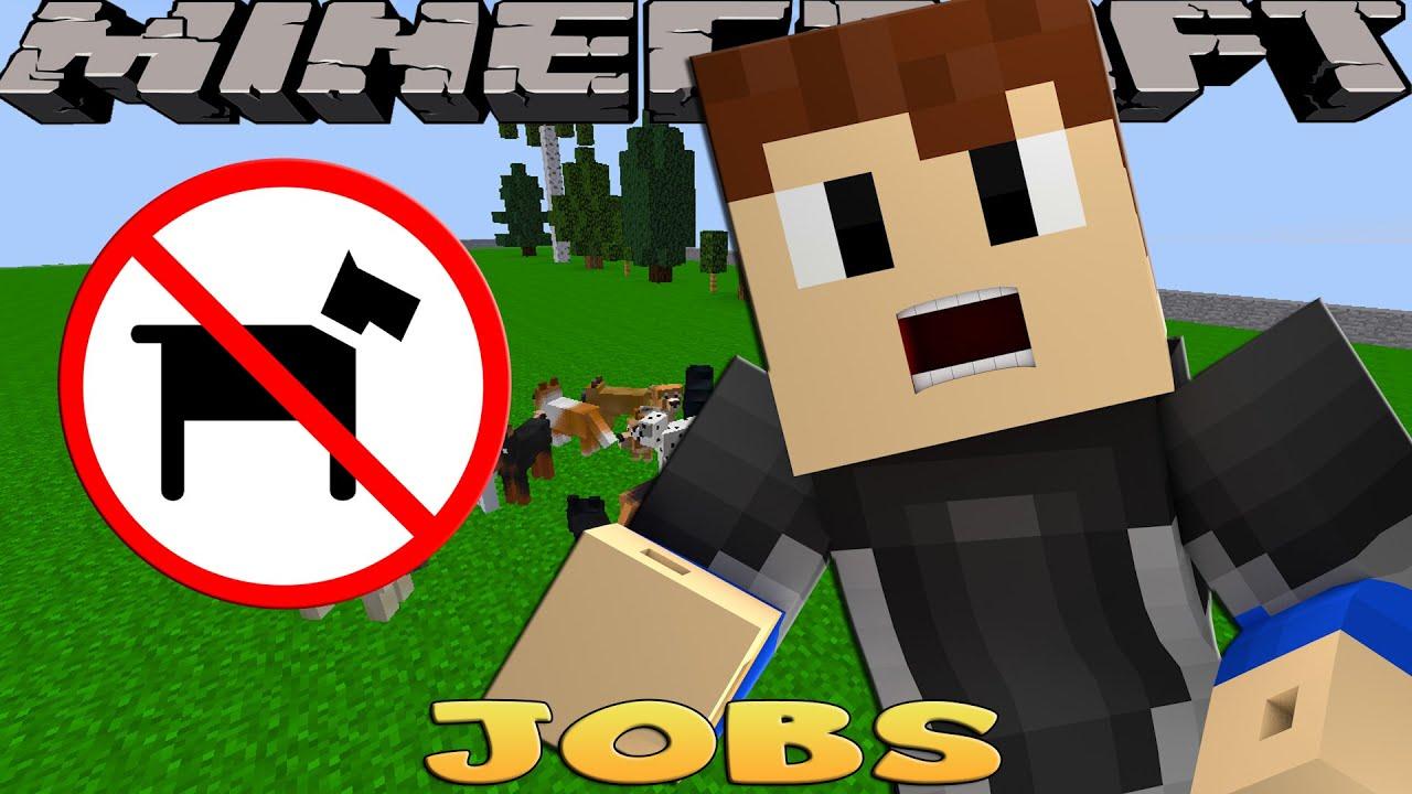 Minecraft Jobs THE PUPPY POUND RESCUE