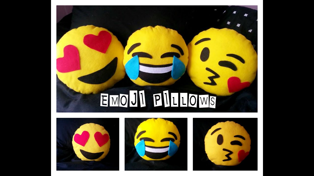 Diy Emoji Pillows No Sew: DIY Emoji Pillow   YouTube,