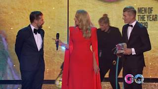 GQ Men of the Year 2019 Toni Kroos vs Klaas HeuferUmlauf