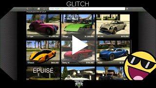 GLITCH | GTA5 : Obtenir des voitures épuisées gratuitement !