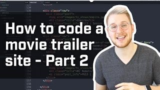 making it responsive how to code a movie trailer site part 2 week 4 5 of 12