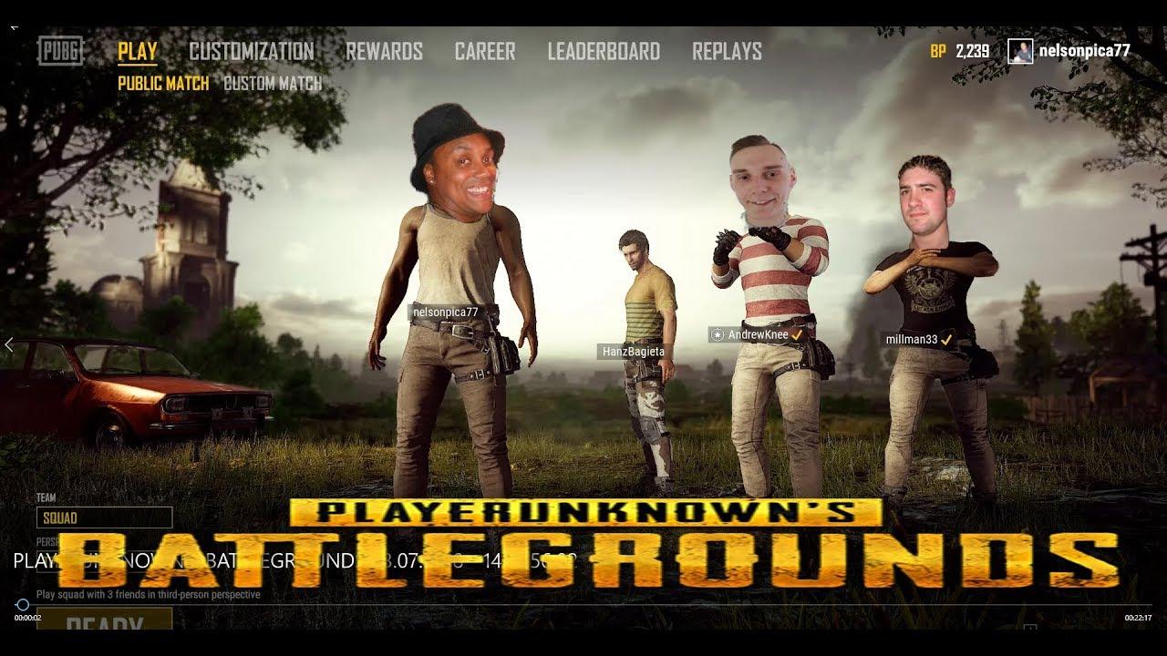 Pug Playerunknown Battleground Teamspeak 4 Youtube
