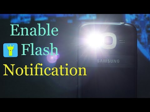 Use Your Samsung J2 16 Camera Flashlight as Notification Light | How To Video |