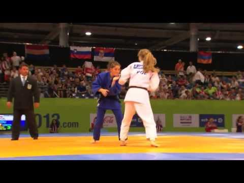 EYOF2013 JUDO BRONZE MEDAL FIGHT -44 (G)