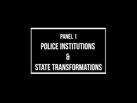 1. Police Institutions and State Transformations - DIPHOORN, RUTEERE, KHALID & VADOT