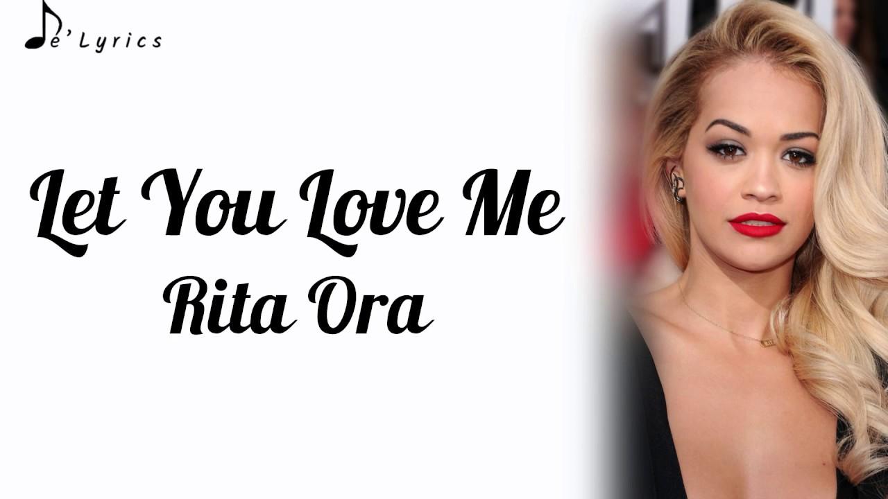 lirik rita ora let you love me