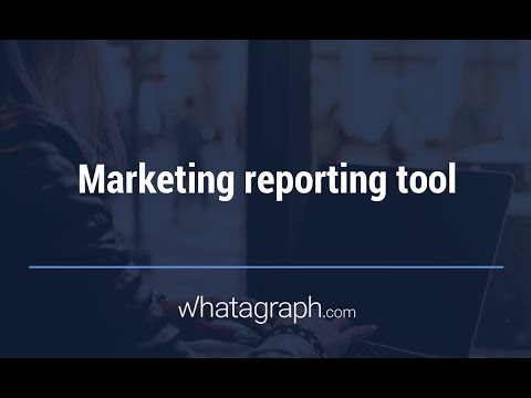 Whatagraph automated marketing reports for your clients and team