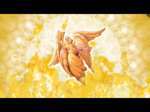 Визуализация. Архангел Иофиил и Кристина! Ангелы второго луча. Луч Мудрости Бога!