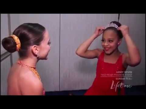 Dance Moms: Nia and Kendall talk before competing (Season 2, Episode 8)