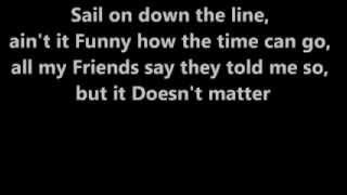 Commodores   Sail On   Lyrics