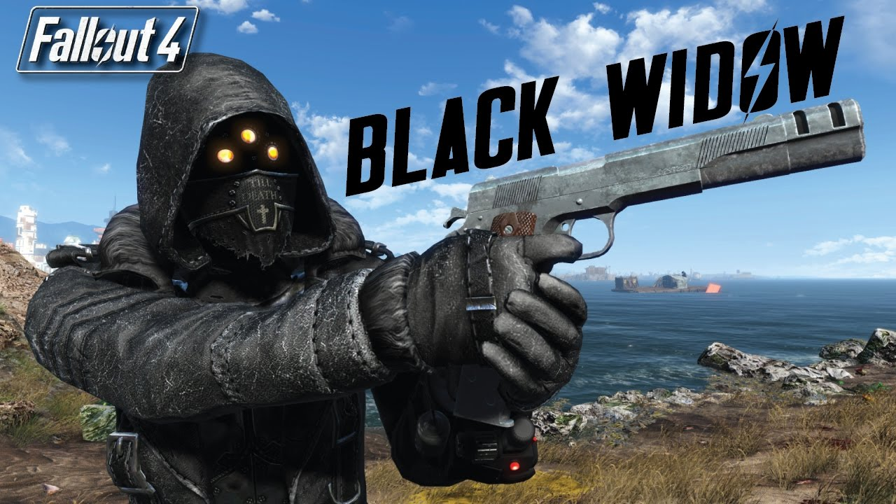 Fallout 4 Mods Add Black Widow Armor And Overhauls Gore