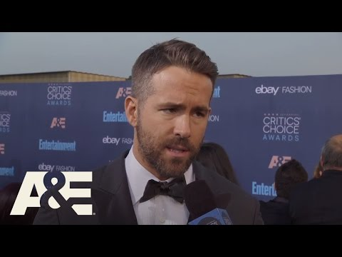 Ryan Reynolds on the Red Carpet | 22nd Annual Critics
