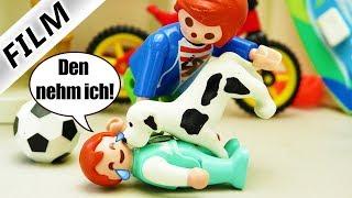 Playmobil Film deutsch | EMMA FINDET HUND IM EINKAUFSZENTRUM - Kann sie ihn behalten? Familie Vogel