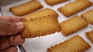 Atta Biscuit Recipe | Crispy Whole Wheat Biscuits in Cooker - CookingShooking thumbnail