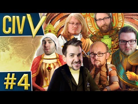 Civ V: Retro Rumble #4 - Where's The Money At?
