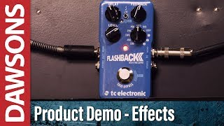 TC Electronic Flashback 2 Delay Pedal Review