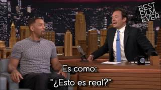 Will Smith reacciona al ver a Batman en Suicide Squad