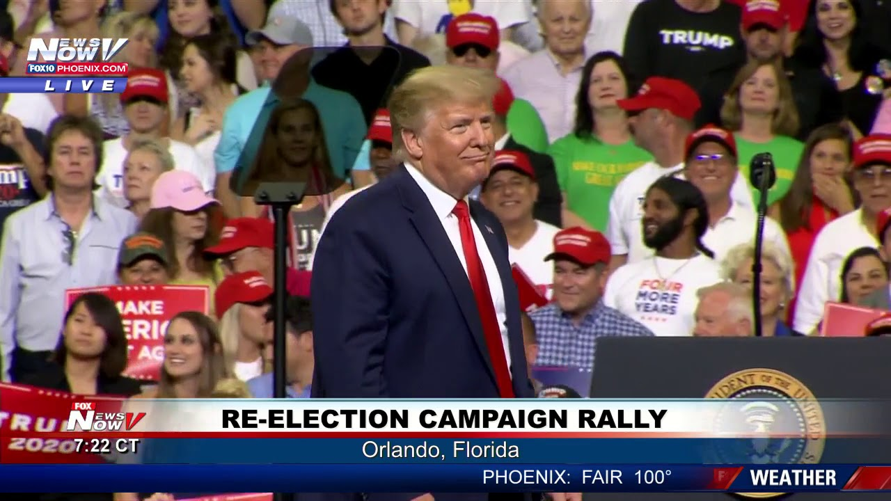 TRUMP 2020: President Trump Re-Election Campaign Rally - FULL SPEECH