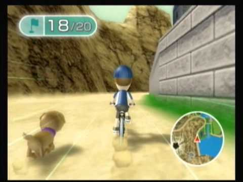 Wii Fit Plus Training Plus Part 2-4: Island Cycling Expert Course