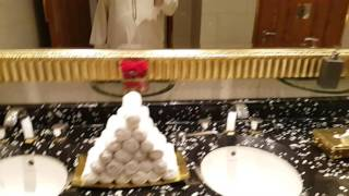 Inside Burj Al Arab Hotel Toilet in Dubai 09.11.2016