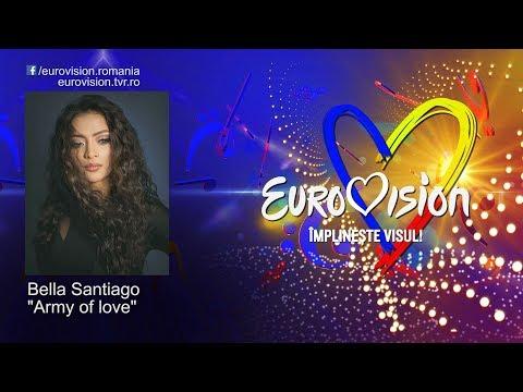 Bella Santiago - Army of love | Eurovision România 2019