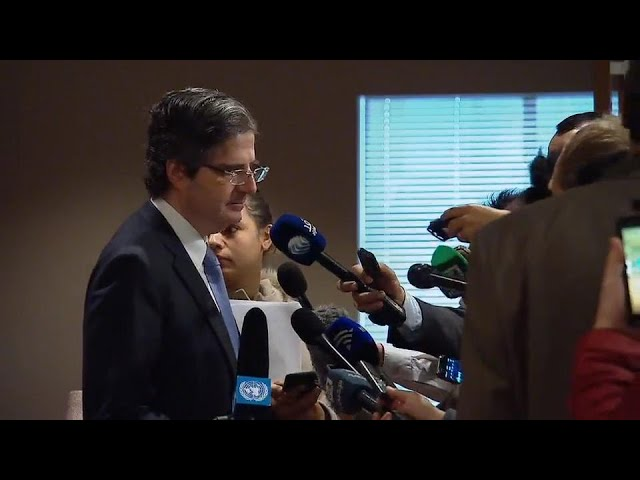 François Delattre (France) on the situation in the Middle East - Media Stakeout (18 December 2017)