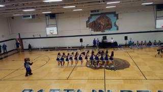Teachers Interrupt Cheerleaders at Pep Rally