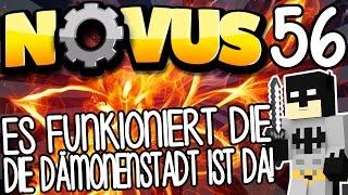 ES FUNKTIONIERT DIE DÄMONENSTADT IST DA! - NOVUS #56 | GAMERSTIME