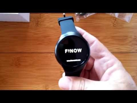 First Look: FINOW X3 Plus [Engineering Prototype] Android 5.1 Smartwatch 1GB RAM / 8GB ROM