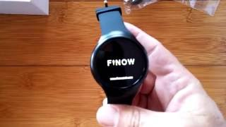 first Look: FINOW X3 Plus Engineering Prototype Android 5.1 Smartwatch 1GB RAM / 8GB ROM
