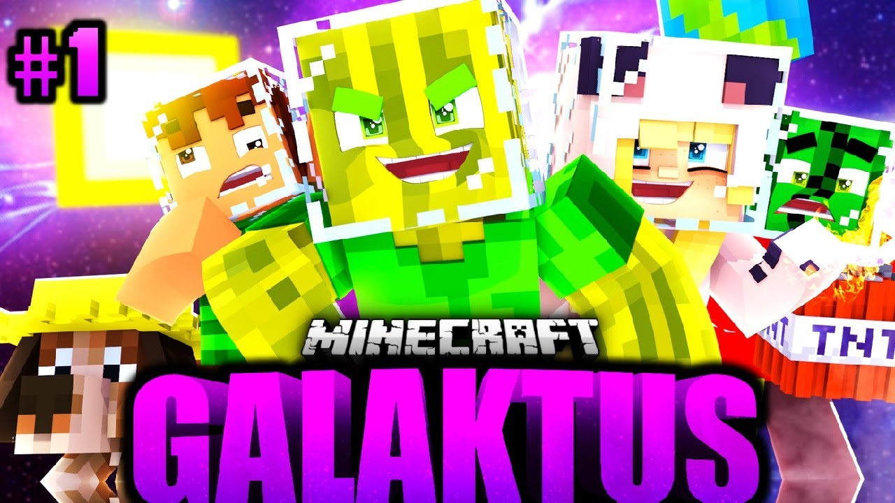 Download ISY, FLO, TOBBSS & JULIAN im WELTRAUM?! - Minecraft GALAKTUS #01 [Deutsch/HD]