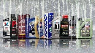 Olej 5W50 Test Zimna -30°C Valvoline, Amsoil, Liqui Moly, Xado, Mobil 1, Gulf, Bizol
