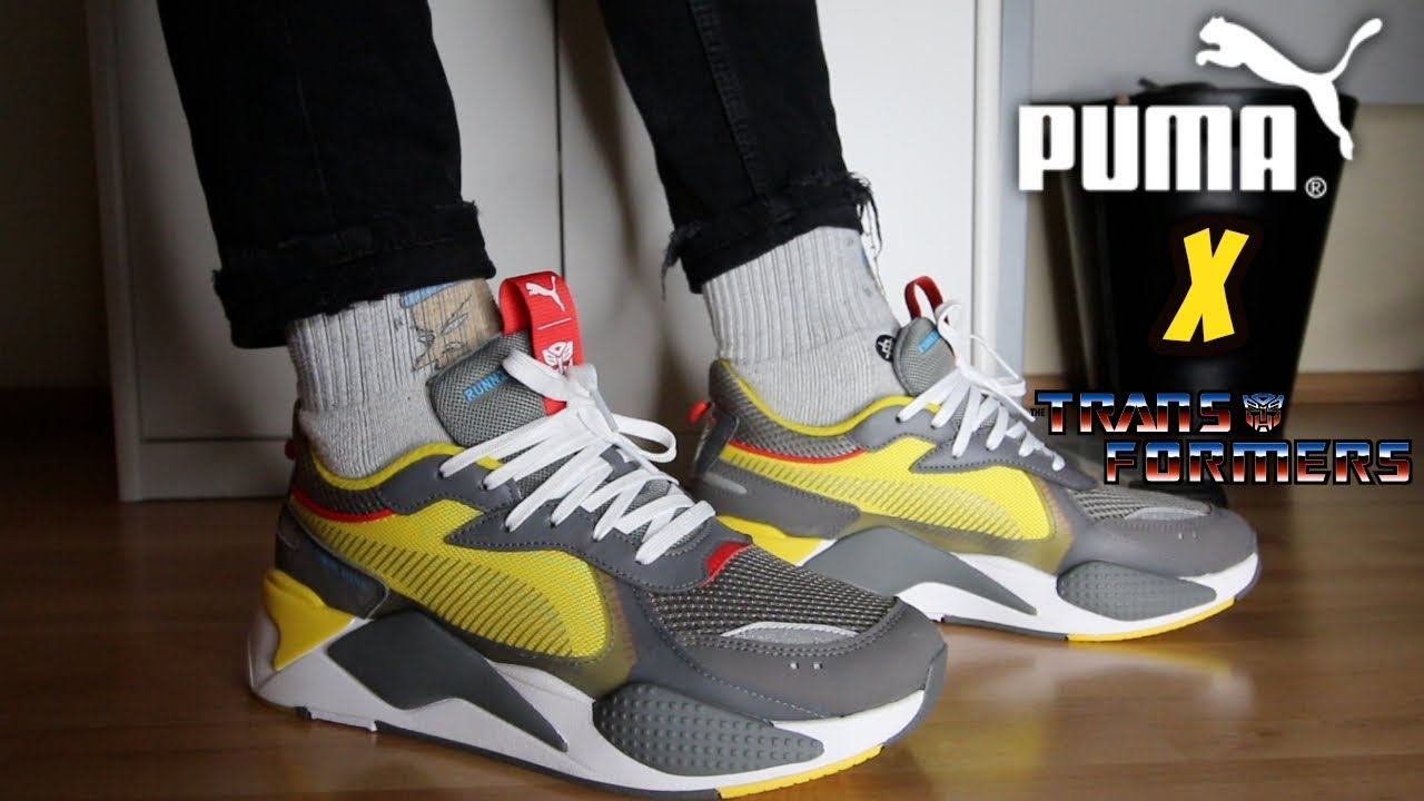 c70a147eaca TRANSFORMERS x PUMA RS-X  BUMBLEBEE  REVIEW ON-FEET - YouTube