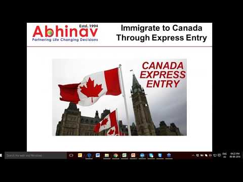Everything You Need to Know about Canada Express Entry Program | Abhinav Outsourcings