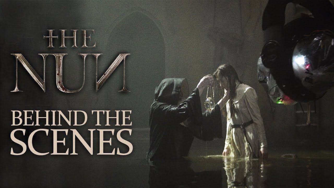 The Nun 2018 Bts كواليس فيلم The Nun Youtube