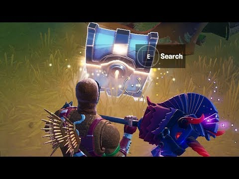 Search A Rare Chest Or Supply Llama Fortnite ( Fortnite Cameo Vs Chic Overtime Challenges)