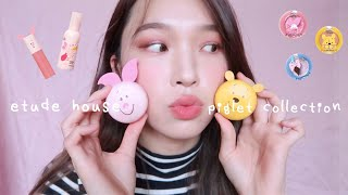 ETUDE HOUSE小豬系列開箱????Happy With Piglet Collection | heyitsmindy