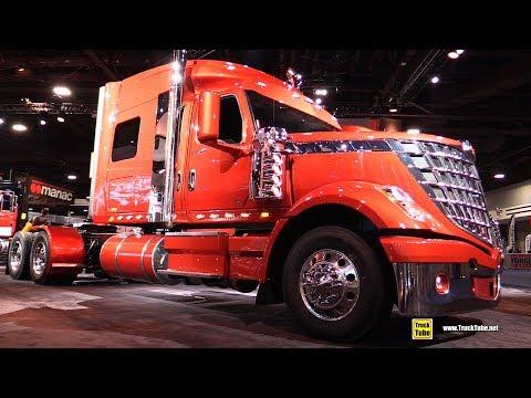 2018 International Lone Star Sleeper Truck - Walkaround - 2017 NACV Show Atlanta