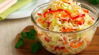 Вкуснейший Рецепт Маринованной Капусты за 5 минут