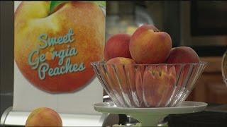 Summertime recipes with Georgia peaches