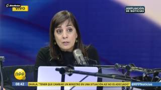 Lescano critica a Basombrío y Mariátegui