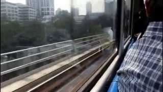 Manila MRT CRASH to ESDA !!! real footage !!MUST Watch