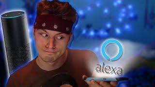 Asking Alexa Funny Commands