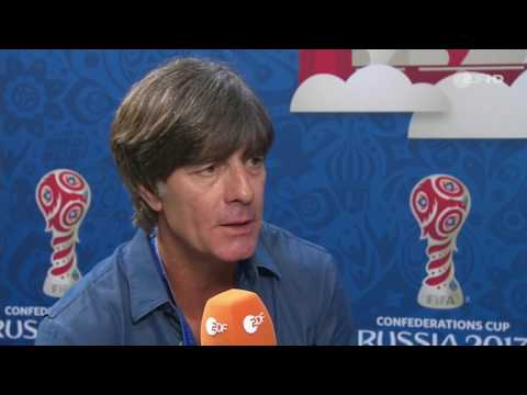 Joachim Löw post-match interview – Chile v Deutschland (Confed Cup 2017)