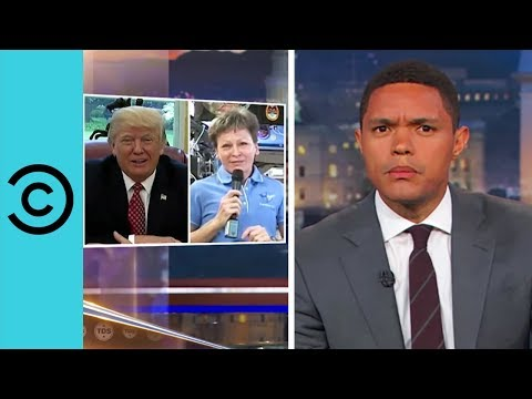 Trump Has Thoughts On Astronaut Pee - The Daily Show | Comedy Central