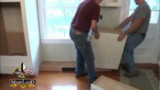 How To Install Base Cabinets - Maryland Kitchen Cabinets